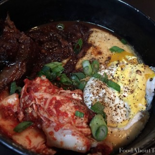 ButaPub Kalbi and Grits